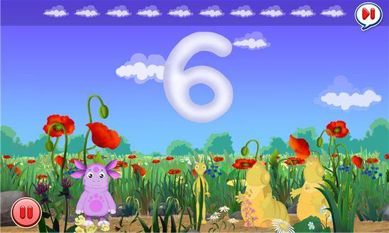 «Лунтик. Считаем до 10»  - новая игра для обучения детей