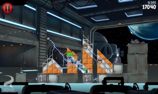 Игра Angry Birds Star Wars II на Windows Phone