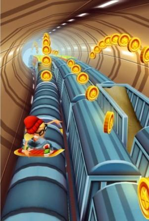 SUBWAY SURFERS НА WINDOWS PHONE