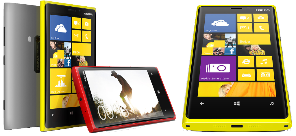Девайс Nokia Lumia 920 на Windows Phone 8