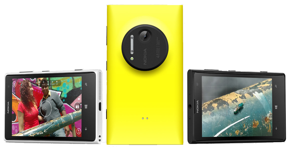 Девайс Nokia Lumia 1020 на Windows Phone 8