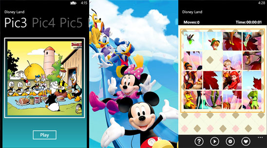 Disney Land для Windows Phone