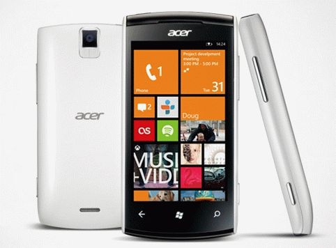 Acer снова с Windows Phone