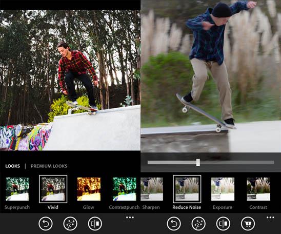 Adobe Photoshop Express для Windows Phone и Windows 8 – магия на кончиках ваших пальцев