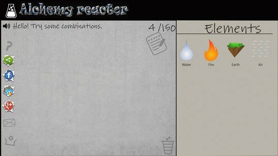 Alchemy Reactor - Реактор Алхимии для Виндовс 8