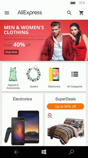 AliExpress Shopping App скачать