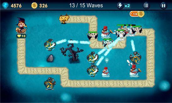 Алиса в стране монстров – Demon Defence – прекрасная игра для Windows Phone