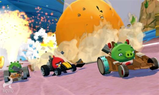 Angry Birds Go – гонки злых птичек на Windows Phone