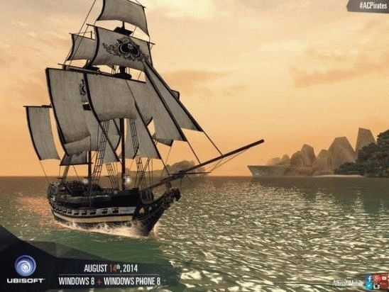 Анонс игры Assasins Creed Pirates для Windows Phone 8 и Windows 8