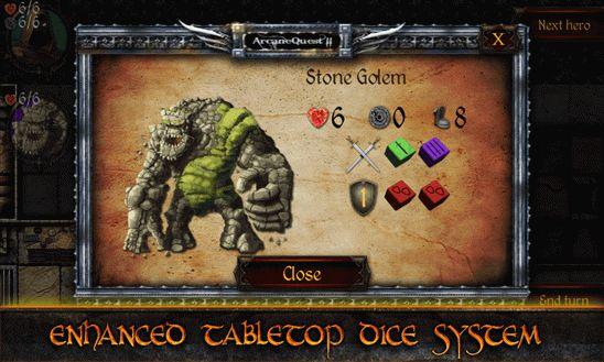 Arcane Quest 2 - игра-бродилка для виндовс фон