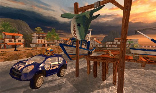 Beach Buggy Racing – пляжные гонки