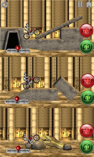 Bike Mania 2. Преодоление препятствий на мотоцикле