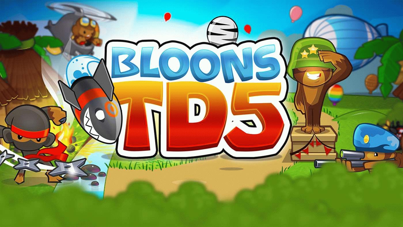 Bloons TD 5 скачать на компьютер
