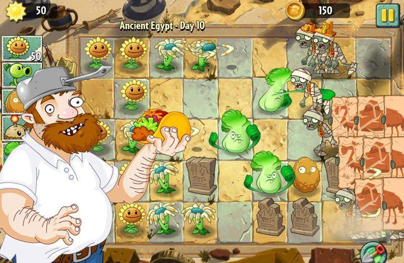 Скоро! Игра Растения против Зомби 2 для Windows Phone