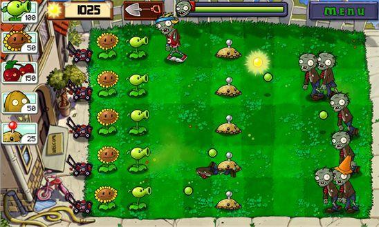 Cкачать Растения против Зомби для Windows Phone