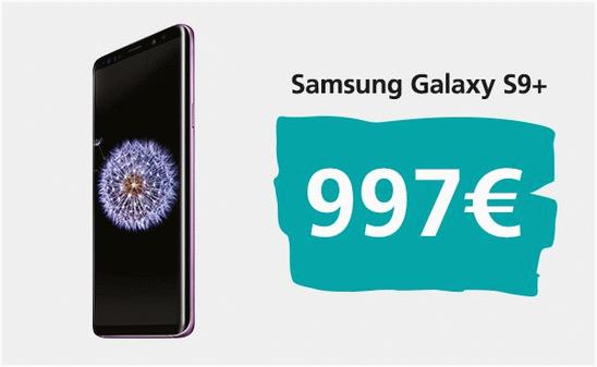 Galaxy S9 цена