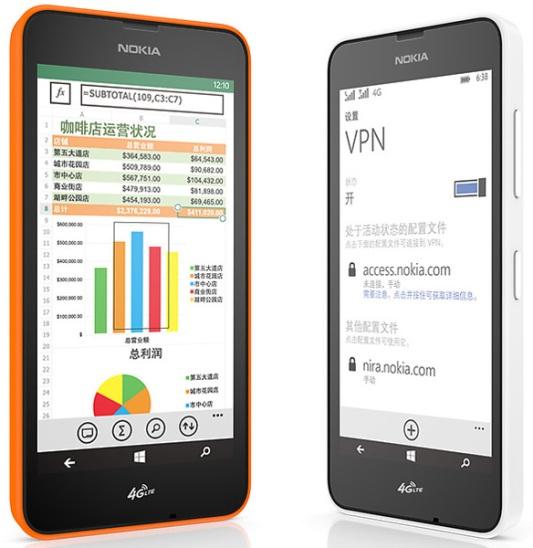 Девайсы Nokia Lumia 636 и Lumia 638 на Windows Phone