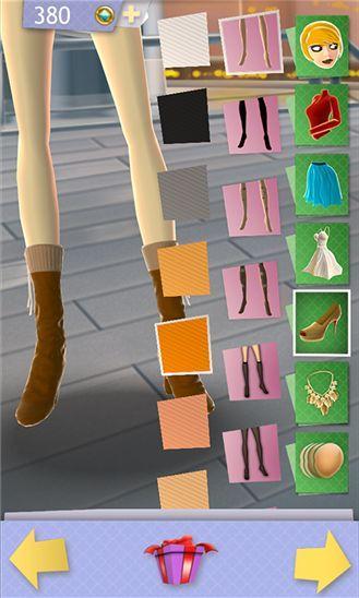 Dress Up Game for Girls – раздень и одень снова на Windows Phone