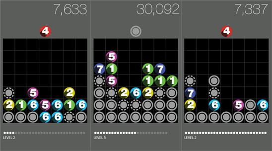 Drop 7 – поддельная игр для Виндовс Пхоне от Zanga