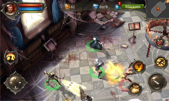 Dungeon Hunter 4 - новенькая ролевая игра от Gameloft
