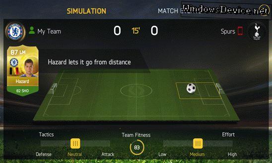 FIFA 15 Ultimate Team для Windows Phone