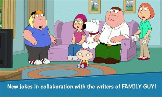 Family Guy: The Quest for Stuff – Гриффины на виндовс фоне