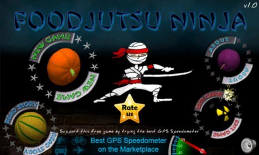 Foodjutsu Ninja - новый фруктовый ниндзя для Windows Phone