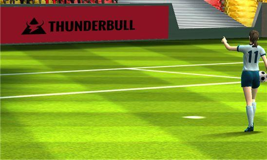 Симулятор Football Cup Flick Soccer Real World League 14 3D для Windows Phone