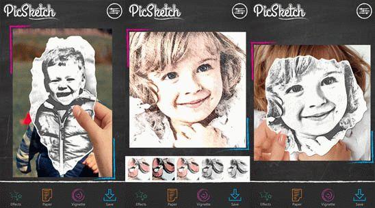 Фоторедактор PicSketch для Windows Phone превратит ваше фото в рисунок