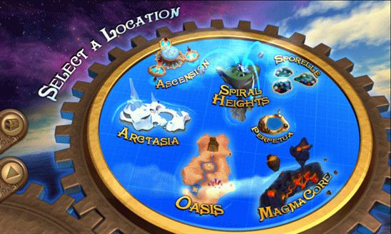Glyder: Adventure Worlds - игра на высоте птичьего полета