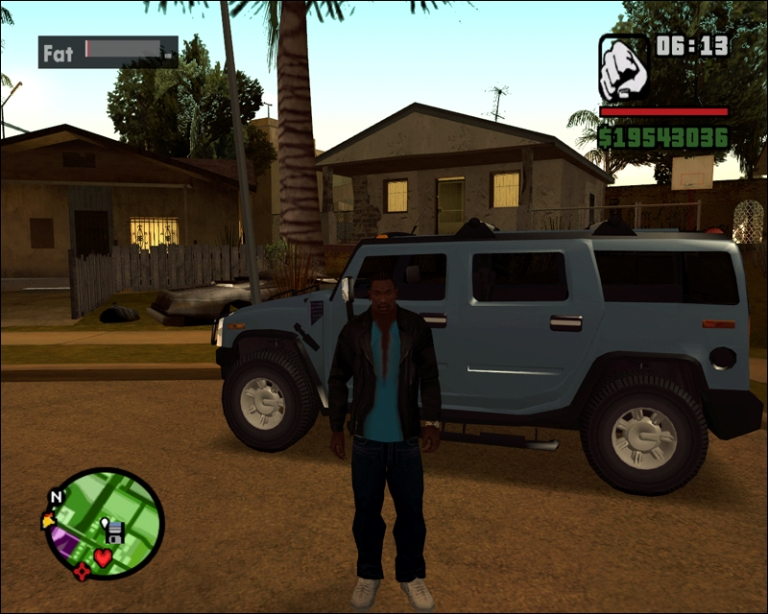 Grand Theft Auto San Andreas на Windows Phone