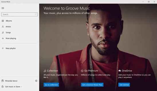 Groove Music вместо привычного Xbox Music изменения в Microsoft