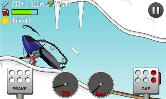 Hill Climb Racing для Windows Phone 8 - убойные гонки