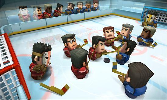 Ice Rage Hockey для Windows Phone – спортивная игра рулит