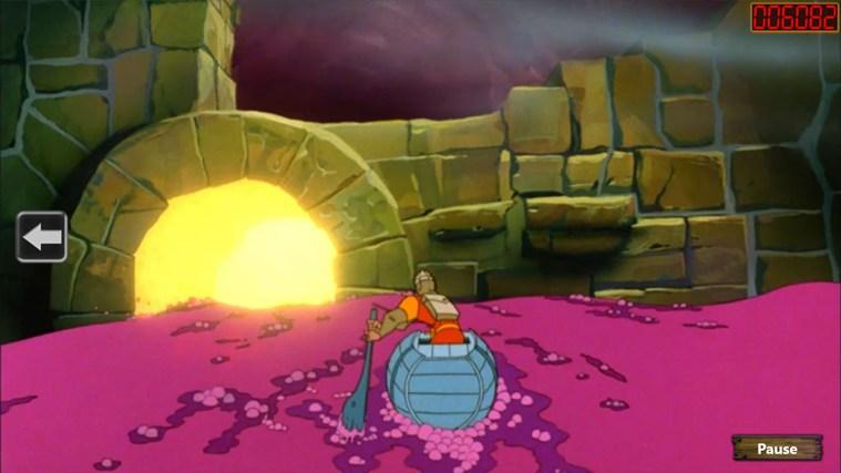 Игра Dragon's Lair для Windows 8