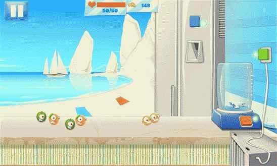 Игра Fruit Avenger для мобильных устройств Windows