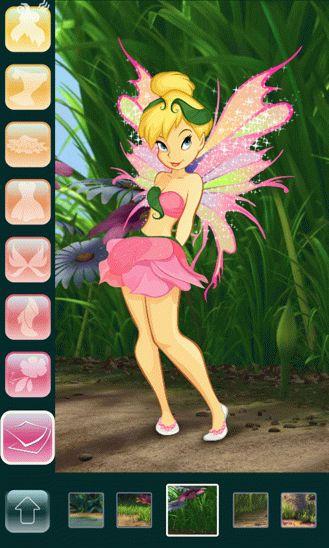 Игра Tinker Bell DressUp