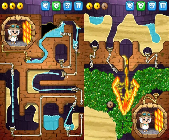 Игра Wheres My Water Featuring XYY от Disney для Windows Phone и Windows 8