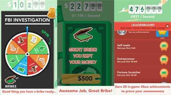 Инвестиционная игра «Make it rain: The love of money»