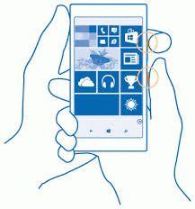 Как сделать скриншот на Lumia с ОС Windows Phone 8.1
