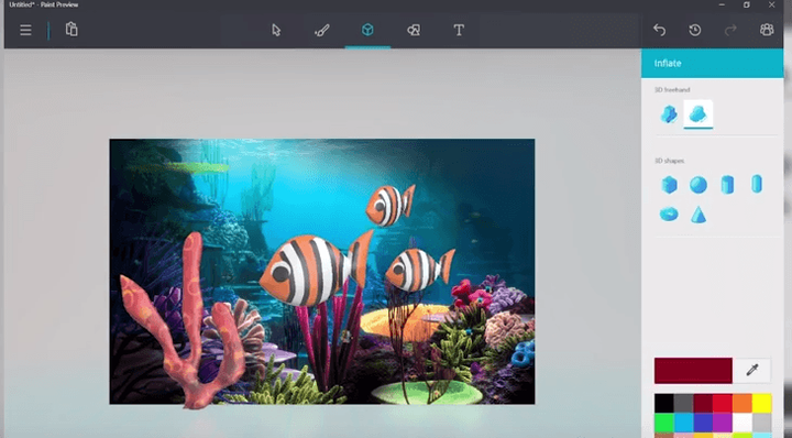 Как установить Microsoft Paint 3D Preview на любую версию Windows 10
