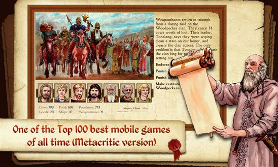 King of Dragon Pass для Windows Phone