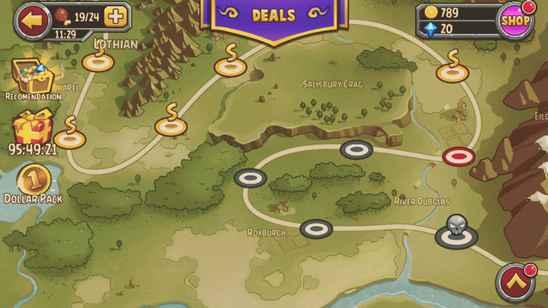 Kingdom in Chaos — новинка в жанре тактических RPG для Windows Phone 8 и Windows 10 Mobile