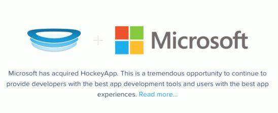 Корпорация Microsoft будет тестировать свои приложения с помощью  сервиса Hockeyapp