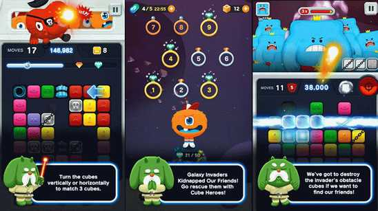 LINE CubeHeroes – эксклюзивная игра для Windows Phone
