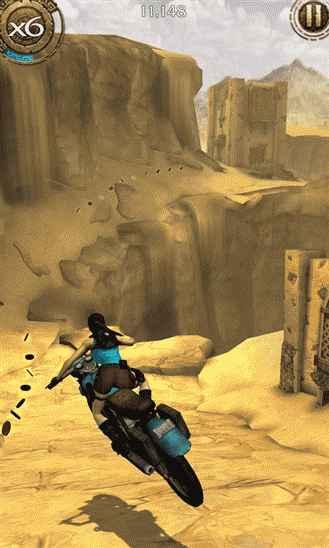 Lara Croft: Relic Run - опасные приключение Лары Крофт