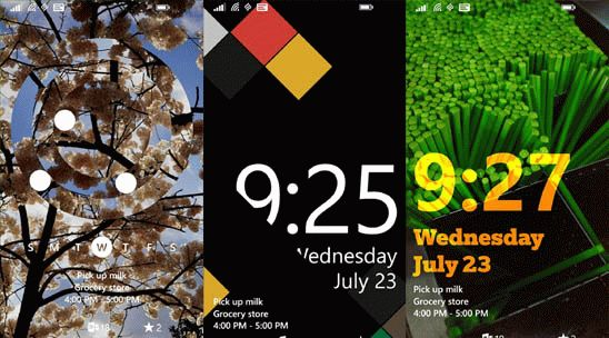 Live Lock Screen BETA. Экран блокировки для Windows Phone