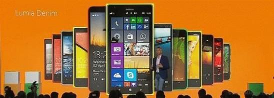Lumia Denim – новый апдейт от Microsoft
