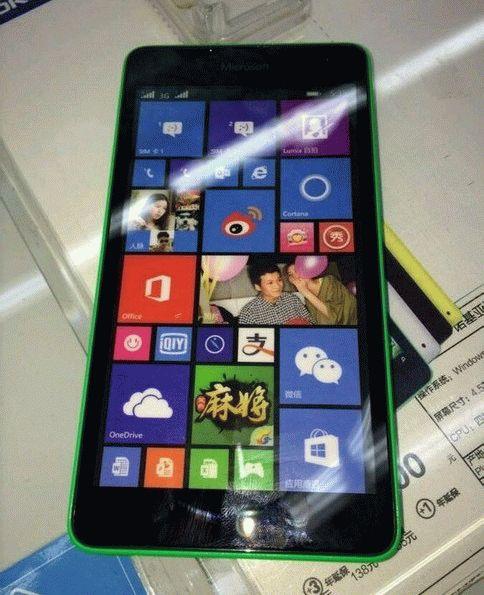 Microsoft Lumia 535 – дата выхода 11 ноября 2014 года