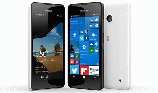 Microsoft Lumia 550 - экономный смартфон